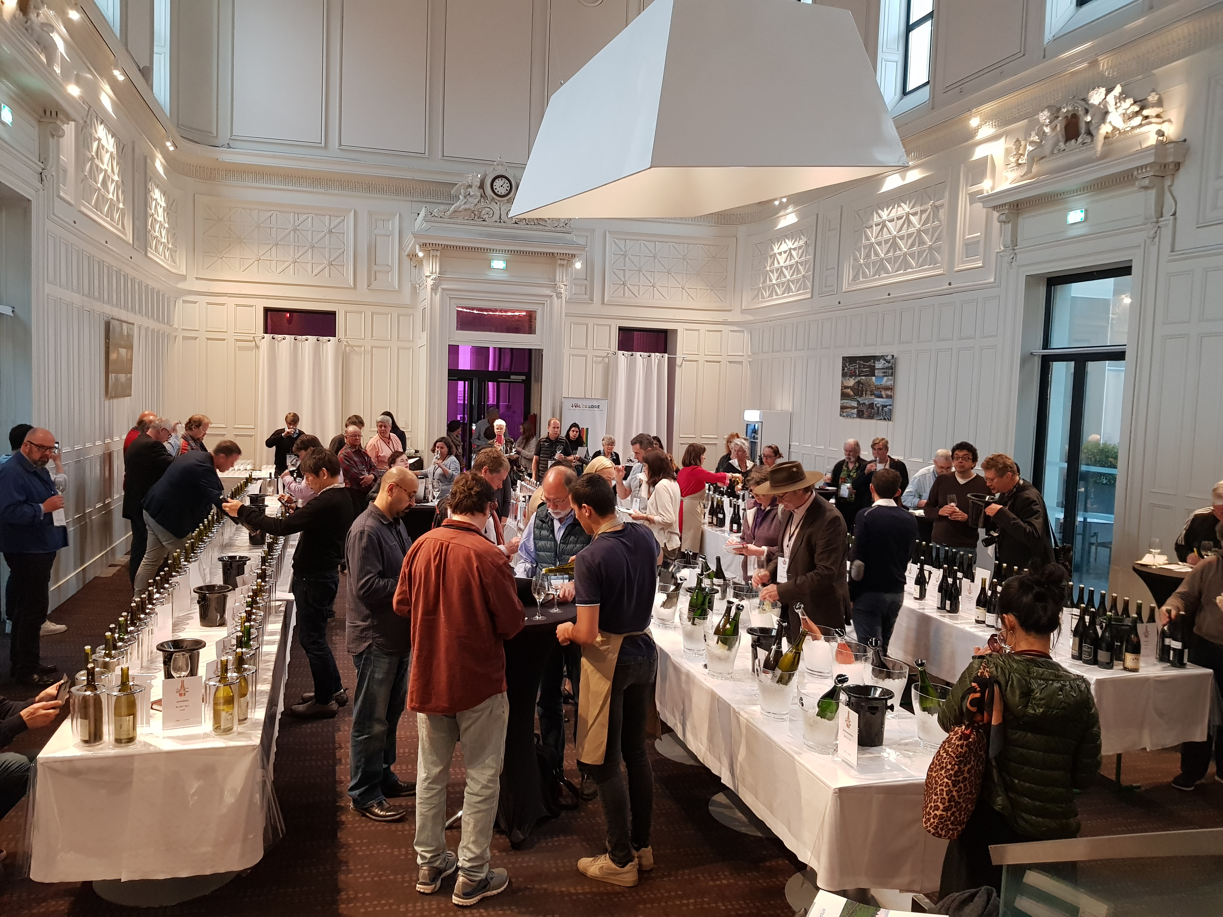 Loire Valley Wines tasting during Val de Loire Millesime