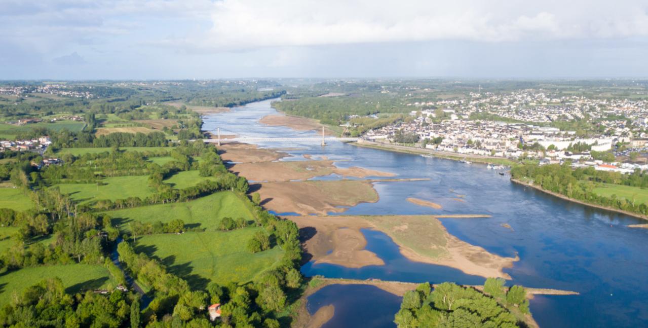 La Loire et son vaste territoire viticole
