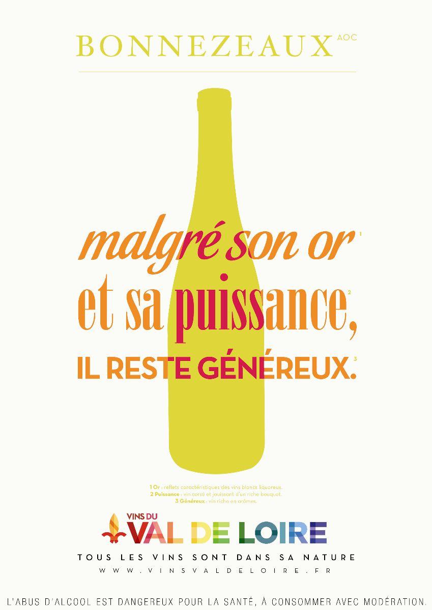 Affiche du Bonnezeaux, un vin puissant et généreux