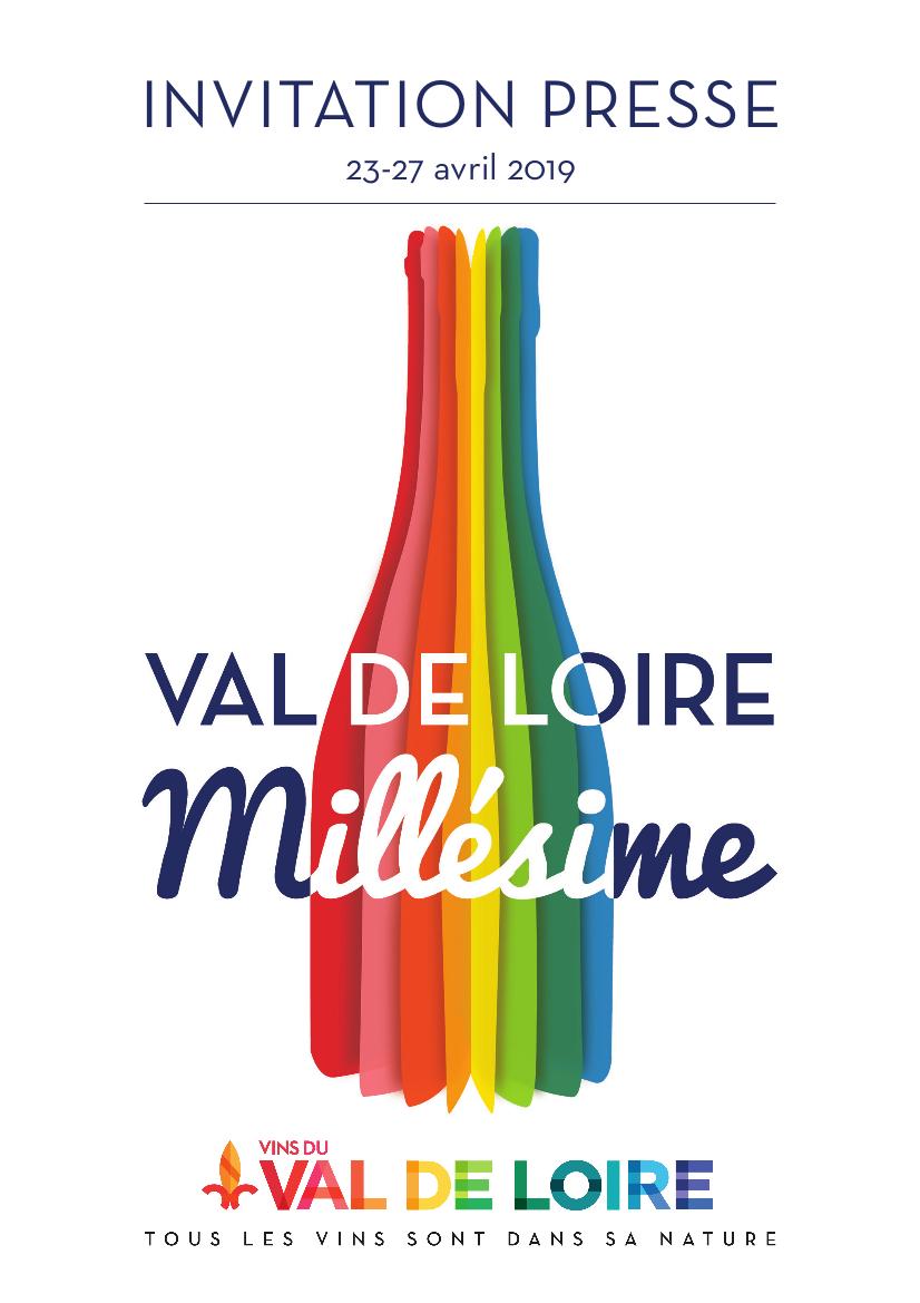 Visuel invitation Val de Loire Millésime