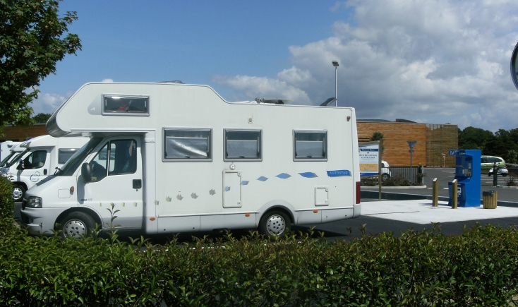 Stationnement Camping Car Pornic