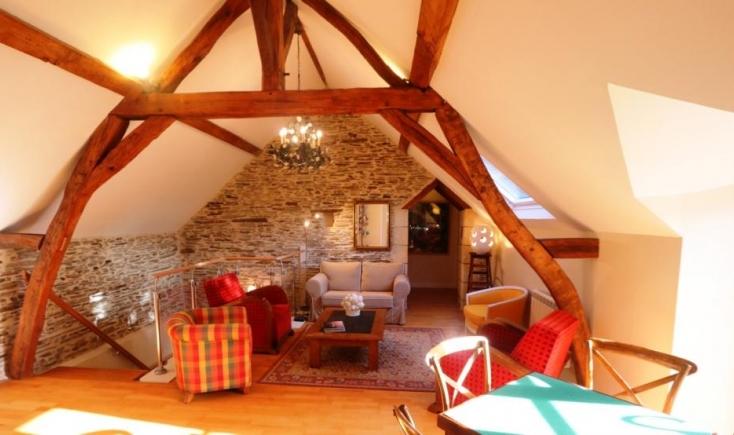 meubl de tourisme la maison des vendangeurs route du vignoble du val de loire. Black Bedroom Furniture Sets. Home Design Ideas