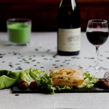 Bricks au poulet aux epices et aux marrons vins du val de loire - Cuire des marrons en conserve ...