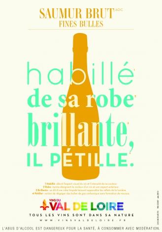 Poster of Saumur Brut, a light sparkling wine