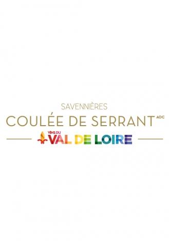 Affiche du Savennières Coulée de Serrant, un vin blanc à la persistance aromatique élevée