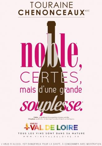 Affiche du Touraine Chenonceau, un accord parfait entre terre et château d'exception