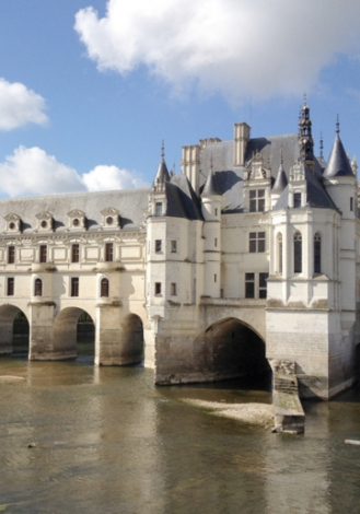Poster of Touraine Chenonceau, a perfect harmony between land and exceptional castle
