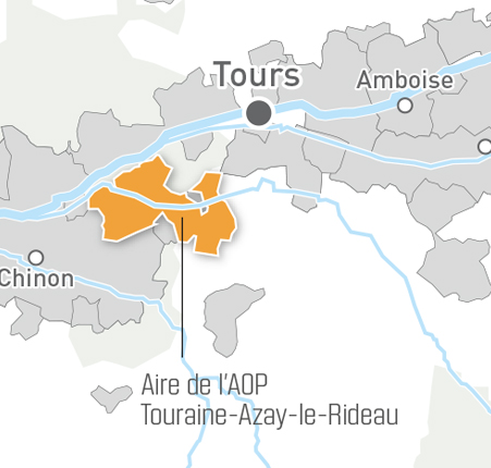 carte touraine azay
